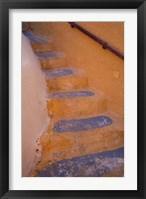 Framed Stairways Leading Up, Oia, Santorini, Greece