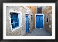 Framed Very Old Building Built, Oia, Santorini, Greece