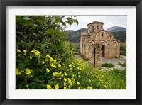 Framed Greece, Crete, Byzantine Church of the Panayia