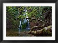Framed Richtis Gorge near town of Exo Mouliana, Crete, Greece