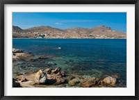Framed Cape Tarsanas, Mykonos, Cyclades, Greece