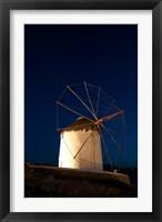Framed Windmill, Chora, Mykonos, Cyclades, Greece