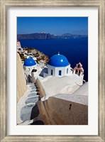 Framed Oia, Santorini, Greece