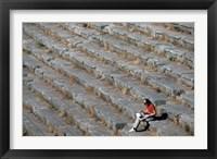 Framed Stadium, Delphi, Greece