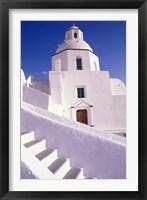 Framed White Architecture, Santorini, Greece