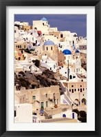 Framed Traditional Architecture on Santorini, Greece