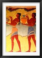 Framed Artwork in Heraklion Knossos Palace, Greece