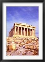 Framed Parthenon on Acropolis, Athens, Greece