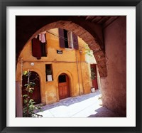 Framed Venetian Houses, Old Town, Chania, Western Crete, Greece