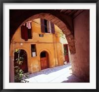 Framed Venetian Houses, Old Town, Chania, Western Crete, Greece