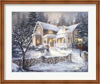 Framed Winter's Welcome