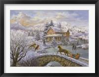 Framed Winter Joy