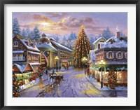 Framed Christmas Eve