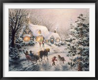 Framed Christmas Visit