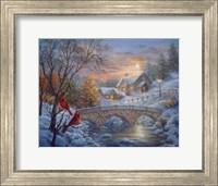 Framed Winter Sunset