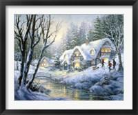 Framed Winter Frolic
