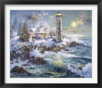 Framed Lighthouse Merriment