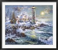 Framed Lighthouse Merriment