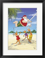 Framed Volleyball Front