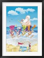 Framed Santa Snorkel
