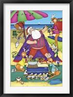 Framed Santa's Picnic