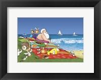 Framed Grass Beach