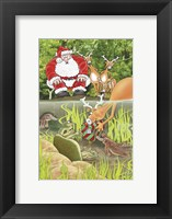 Framed Platypus & Turtle