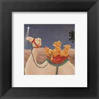 Three Wise Teddies Framed Print