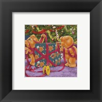 Gift Wrapping Framed Print