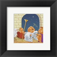 Nativity Play Framed Print