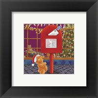 Christmas Mail Framed Print