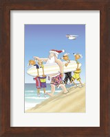Framed Going Surfing