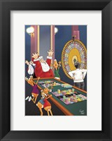 Framed Casino Xmas