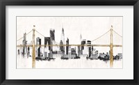 Framed Bridge and Skyline