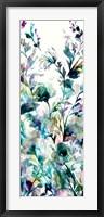Framed Transparent Garden II - Panel I