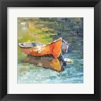 Framed Boat XII
