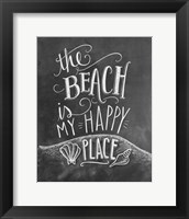 Framed Beach Is My Happy Place