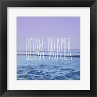 Framed Ocean Dreamer