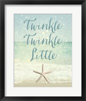 Framed Twinkle Twinkle Little Star(fish)