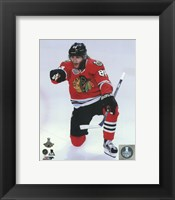 Framed Patrick Kane Goal Celebration Game 6 of the 2015 Stanley Cup Finals