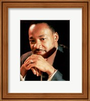 Framed Dr. Martin Luther King, Jr.