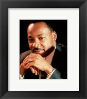 Framed Dr. Martin Luther King, Jr.