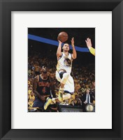 Framed Stephen Curry Game 1 of the 2015 NBA Finals