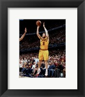 Framed Matthew Dellavedova Game 3 of the 2015 NBA Finals