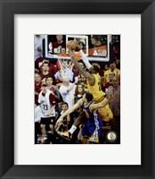 Framed LeBron James Game 3 of the 2015 NBA Finals