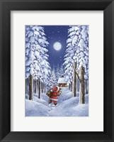 Framed Santa's Trail