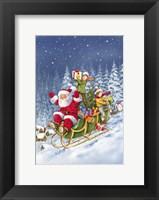 Framed Ride Santa Ride