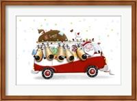 Framed Santa's Christmas Express