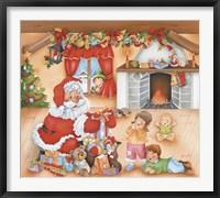 Framed Santa's Gifts For The Kids