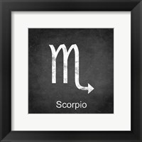 Framed Scorpio - Black